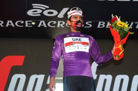 Juan Sebastián Molano se coronó campeón de los puntos en el Giro de Sicilia