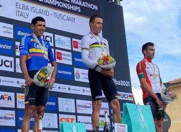 El colombiano Diego Arias se coronó subcampeón del Mundial de MTB en Italia