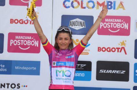 Hegemonía de Lilibeth Chacón en la Vuelta a Colombia: ganó la quinta etapa y acaricia el título