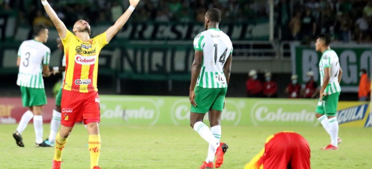 Después de 12 fechas, Atlético Nacional perdió su invicto en la Liga Betplay