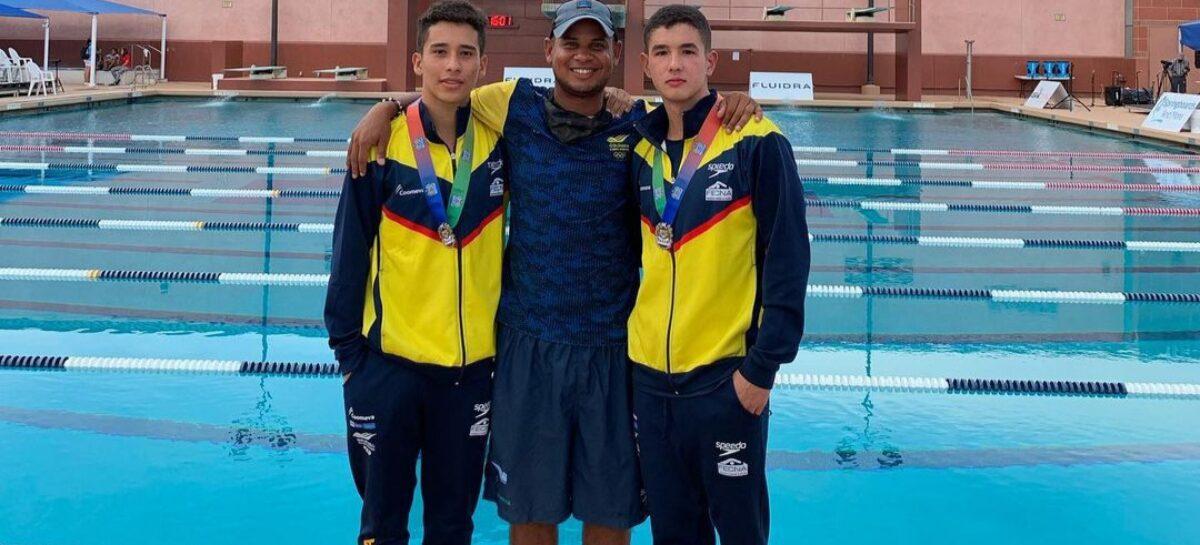 Con dos medallas, Colombia inició su participación en el Panamericano Junior de Clavados