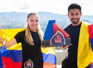 Melissa Herrera y Frank Carreño conquistaron la Piedra del Peñol
