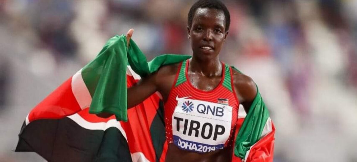 Encuentran muerta a Agnes Tirop, atleta de Kenia que fue doble medallista Mundial