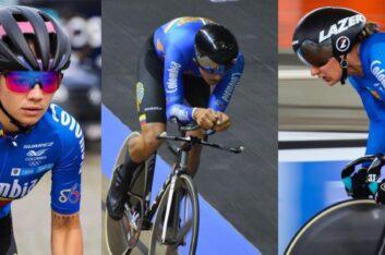 Tres ciclistas del Oriente disputarán el Campeonato Mundial de Pista en Roubaix