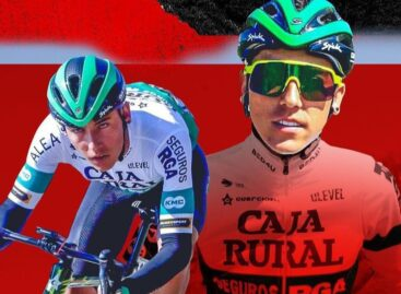 Alejandro Osorio, primer ciclista de El Carmen en llegar a un equipo World Tour