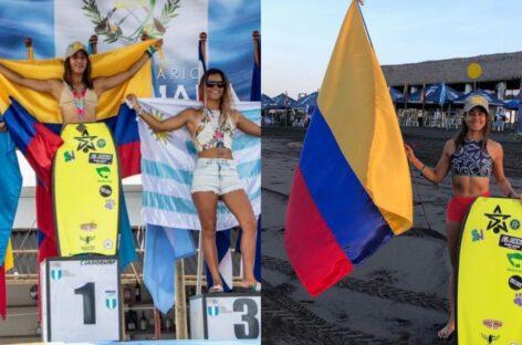 Beatriz Arleo se coronó campeona del Latín Surf Fest en Guatemala