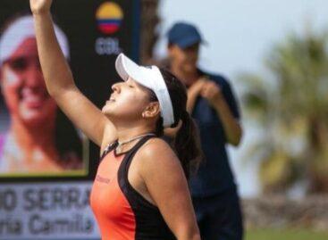 María Camila Osorio clasificó a cuartos de final del WTA 250 de Tenerife
